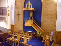 The very high Pulpit!
