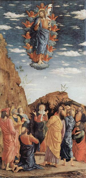 The  Ascension by Andrea Mantegna