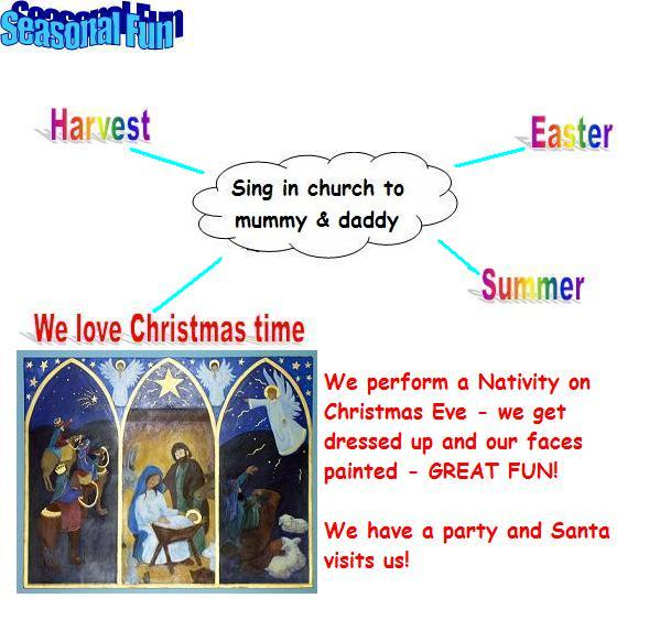 Our year at Primary Sunday School